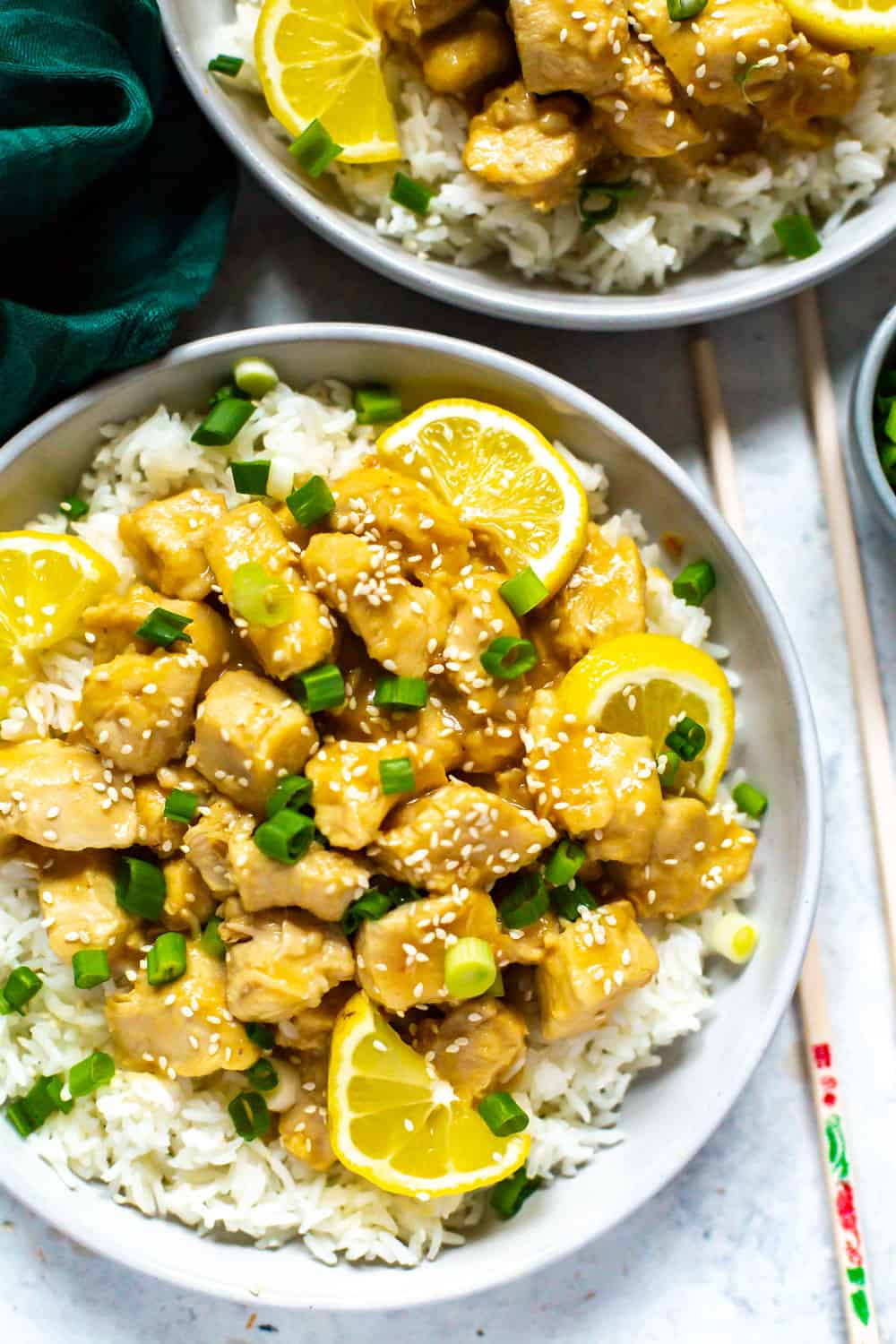 Instant Pot Chinese Lemon Chicken
