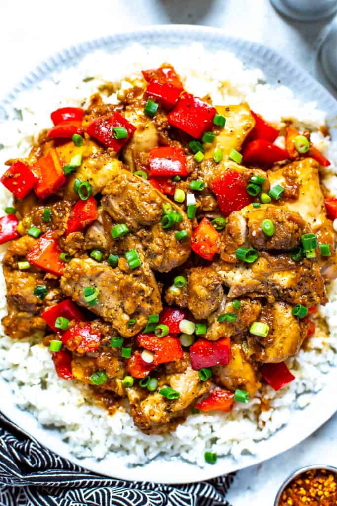 Instant Pot Chicken Adobo Eating Instantly