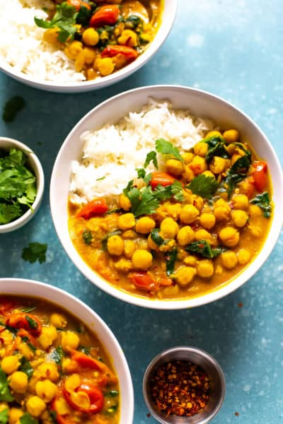 Instant Pot Chickpea Curry