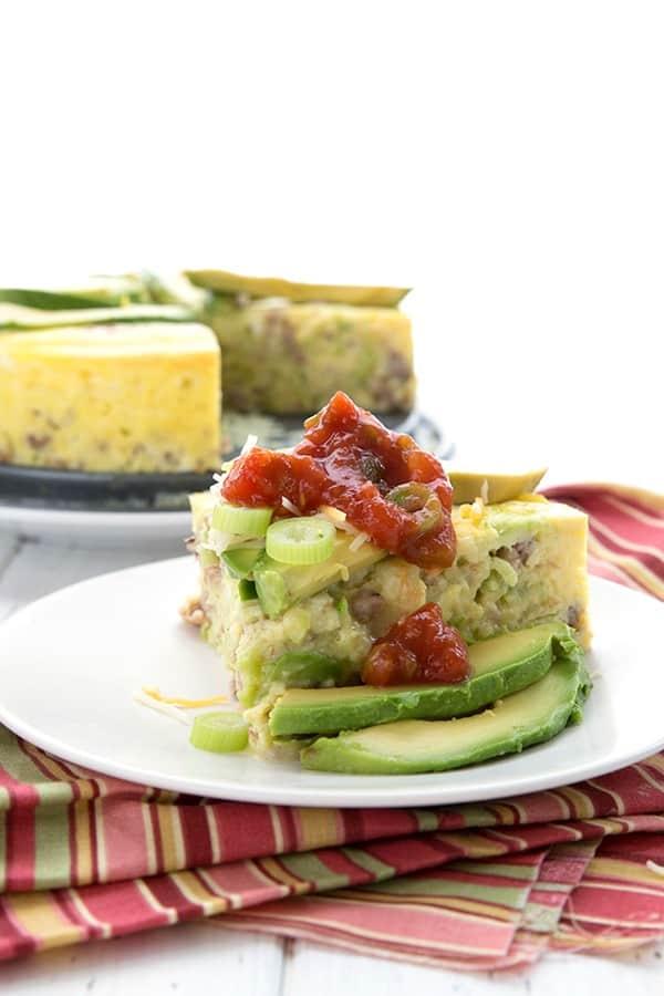 Instant Pot Keto Breakfast Casserole