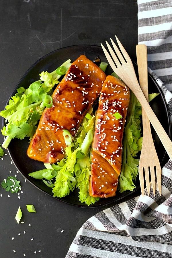 Instant Pot Soy-Free Asian Salmon