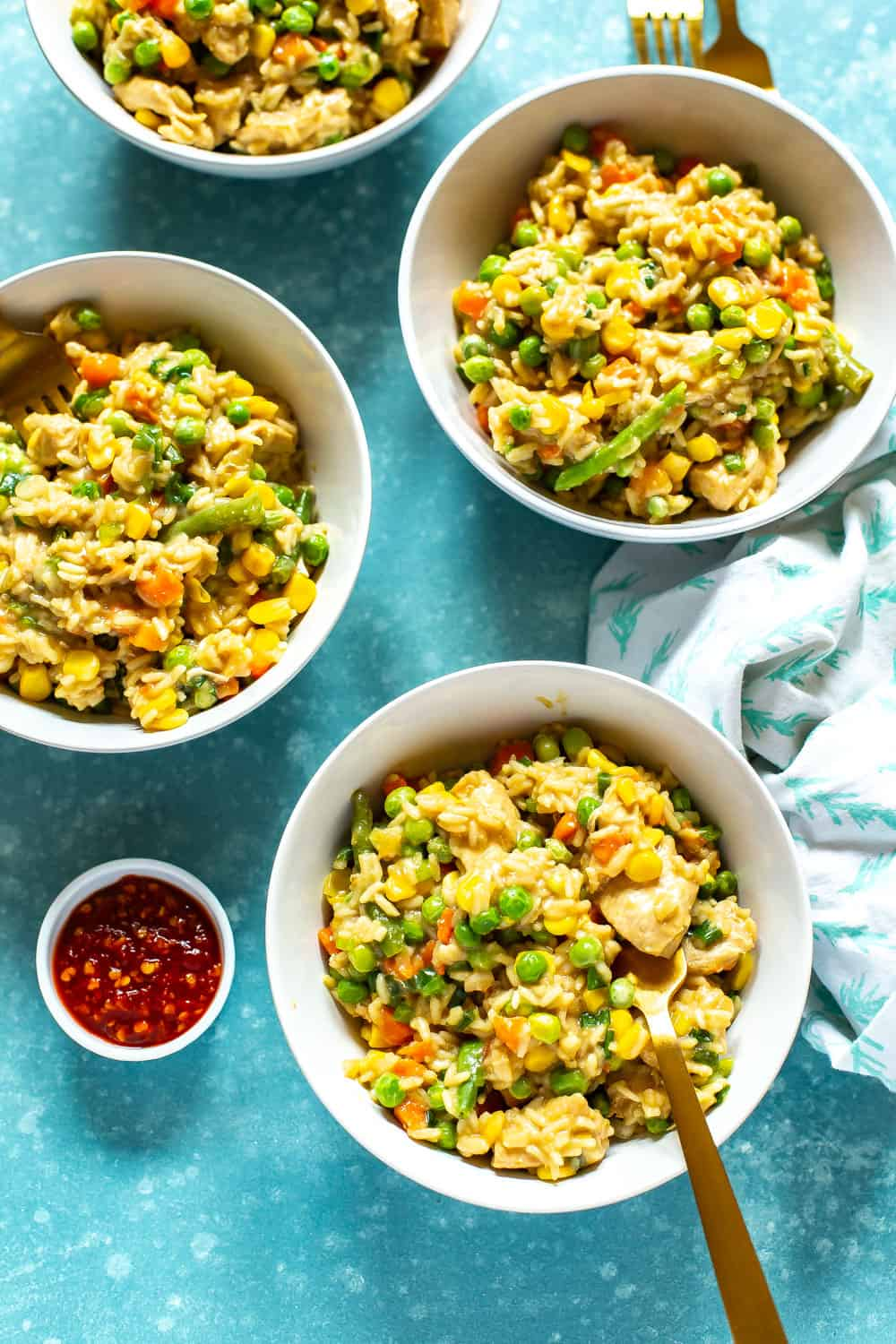 The Best Instant Pot Chicken Fried Rice Eating Instantly