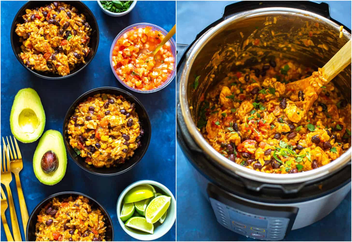 Instant Pot Burrito Bowl recipe