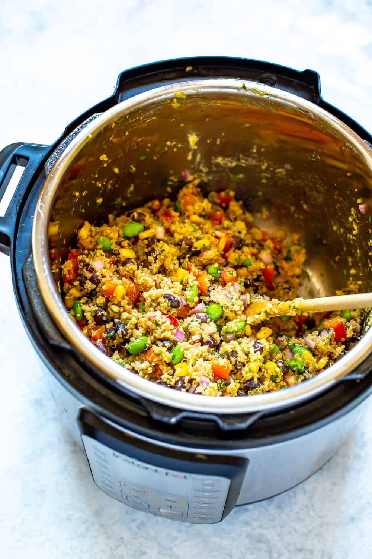 Instant Pot Quinoa Salad