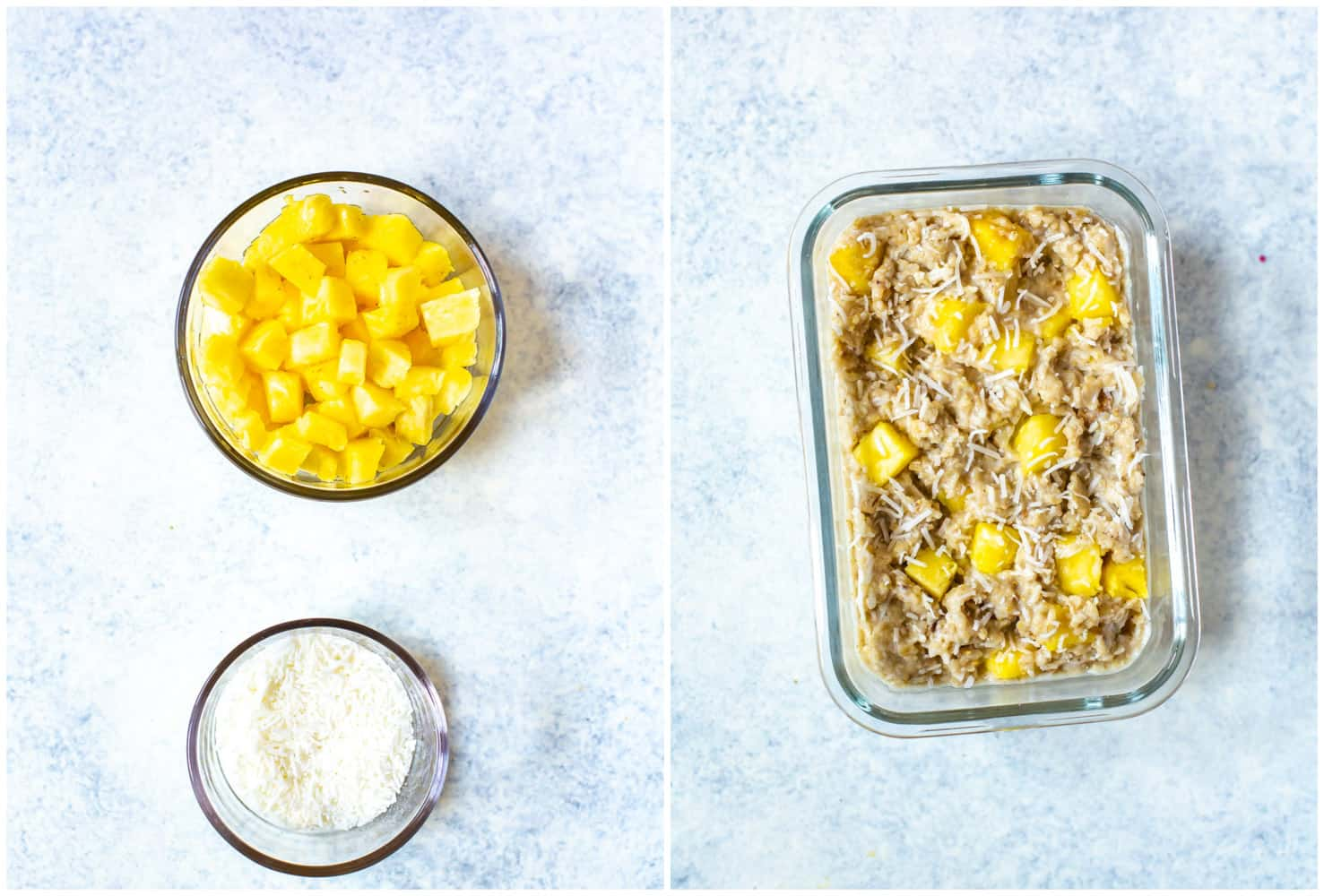 pineapple and coconut Instant Pot Steel Cut Oats