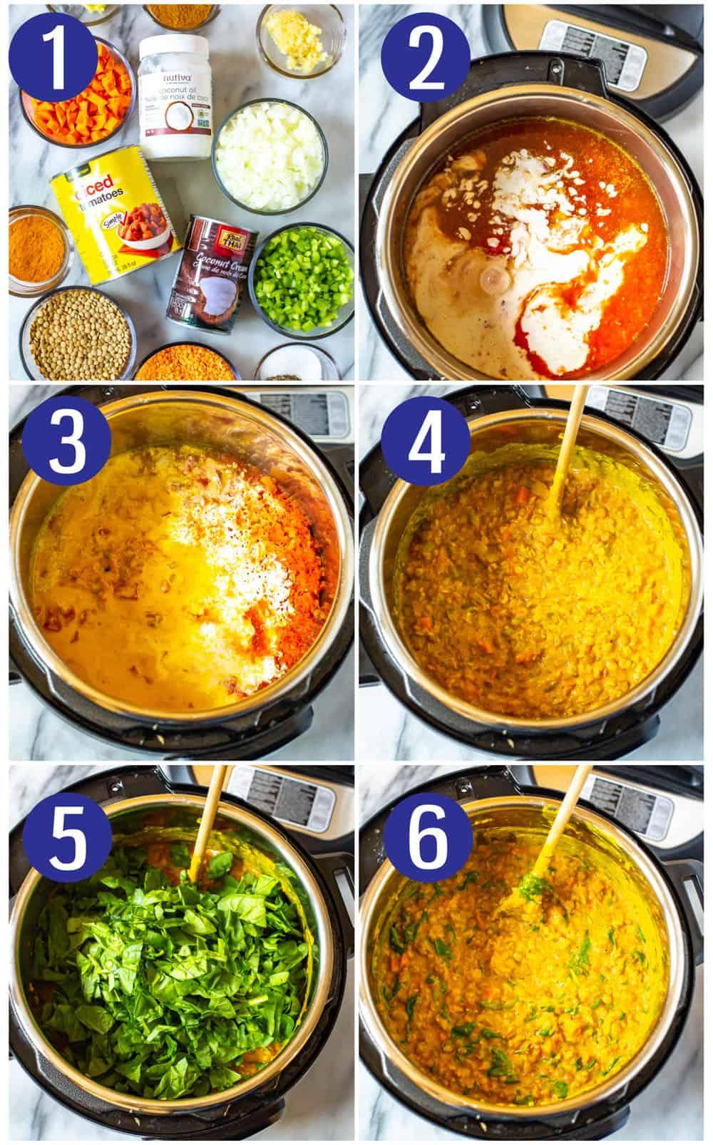 The BEST Instant Pot Lentil Soup