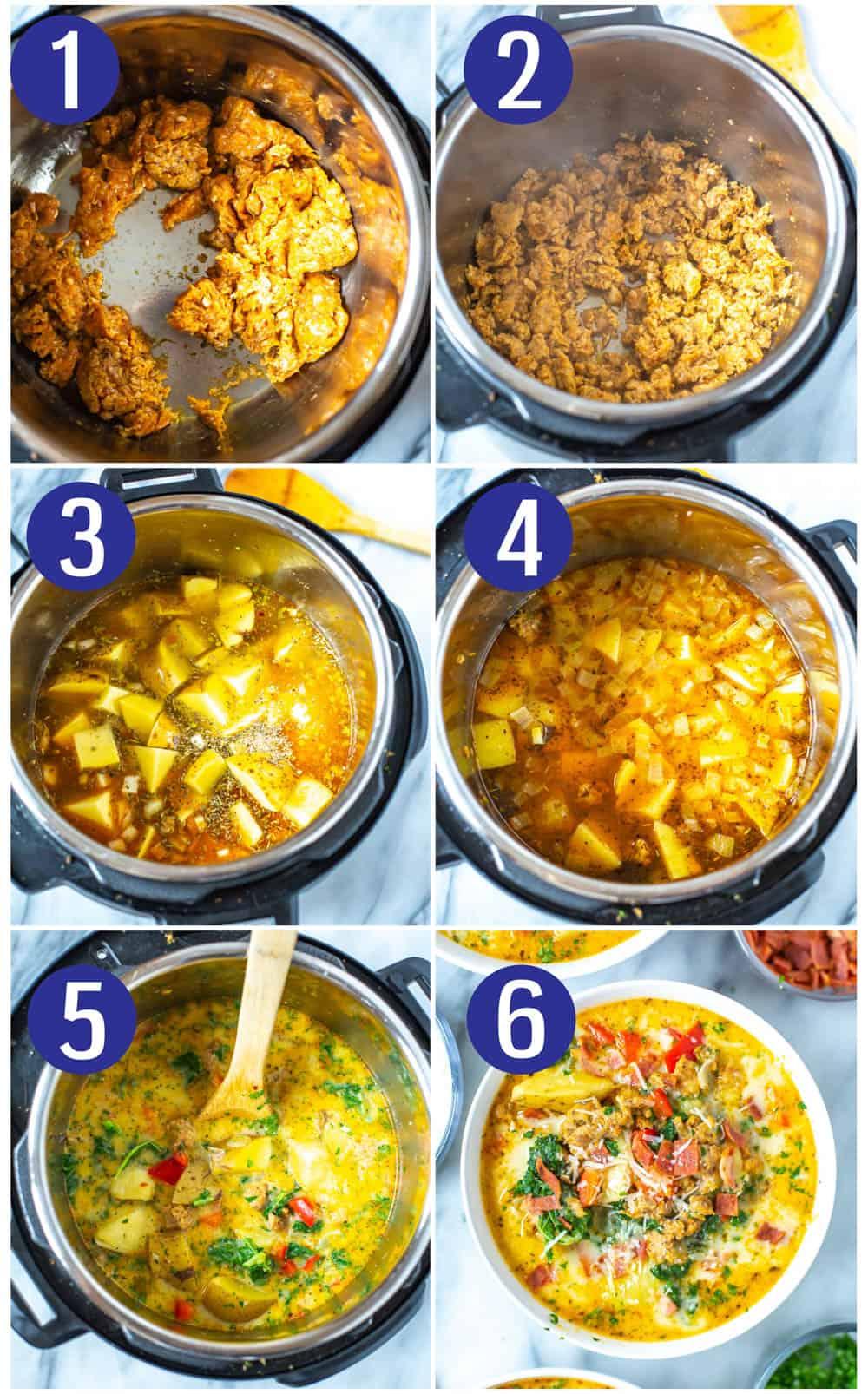 Instant Pot Zuppa Toscana Soup
