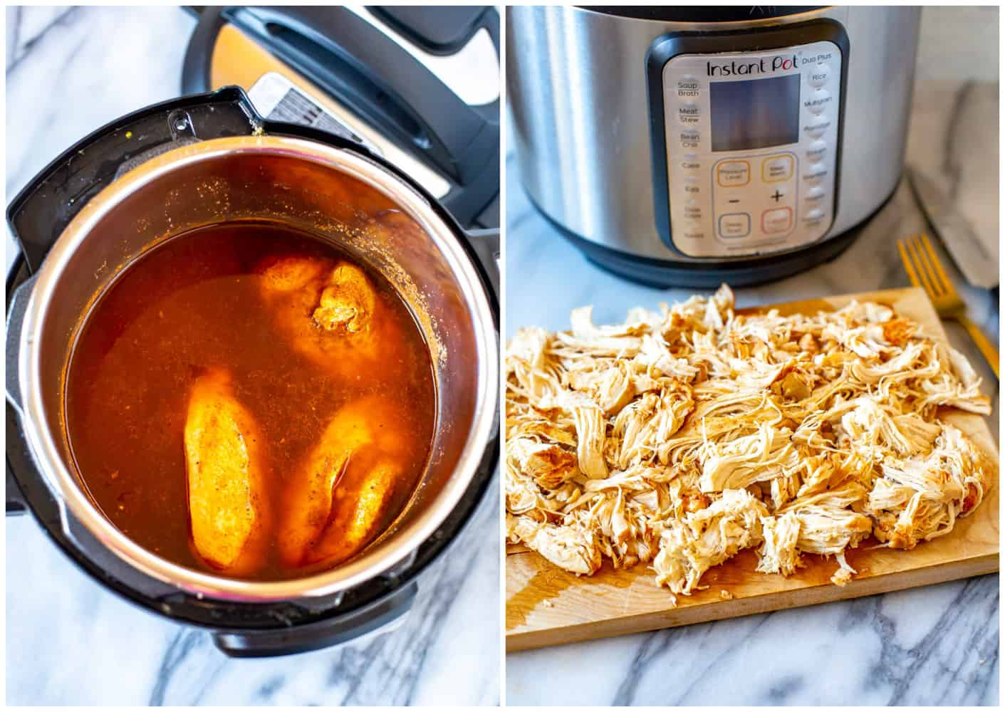 Instant Pot Frozen Chicken