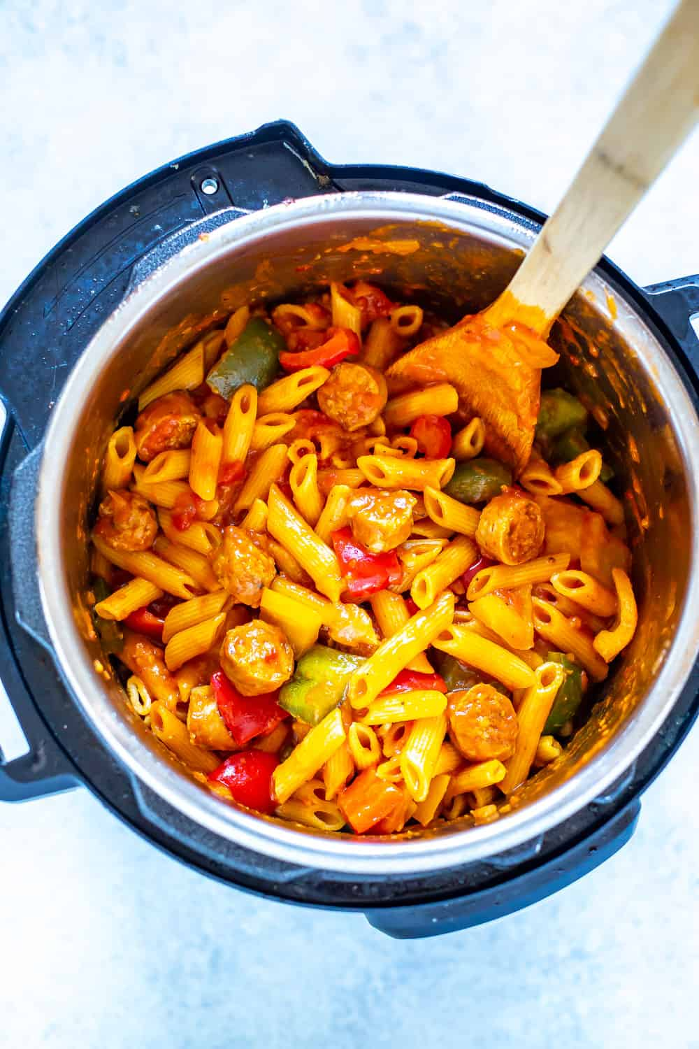 Instant Pot Sausage & Peppers