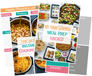meal prep ebook covers