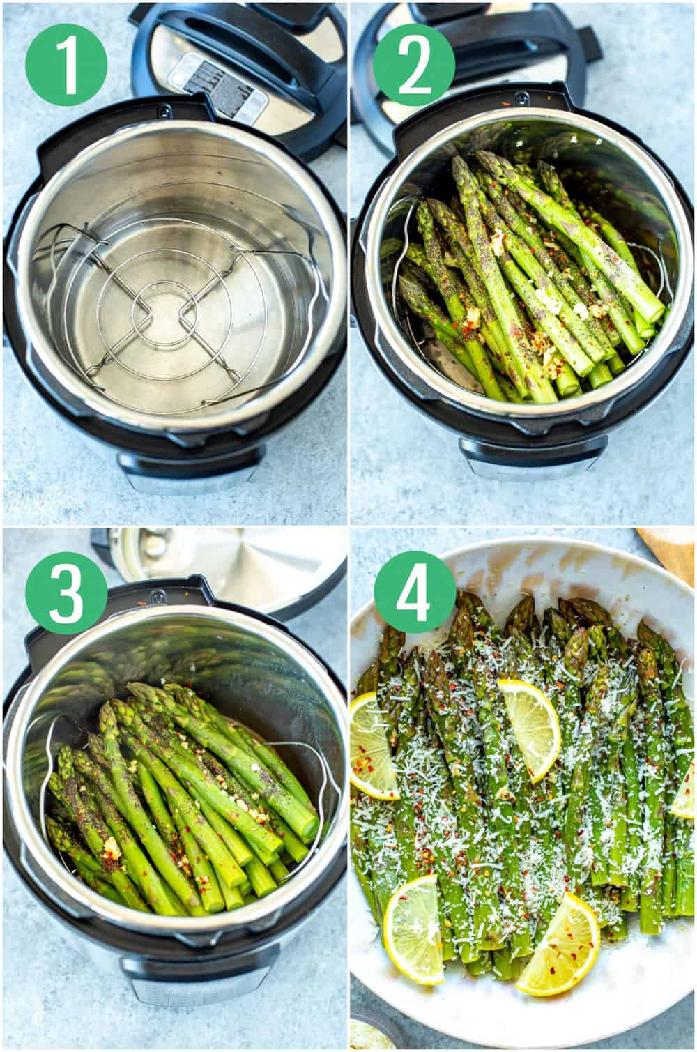 Perfect Instant Pot Asparagus