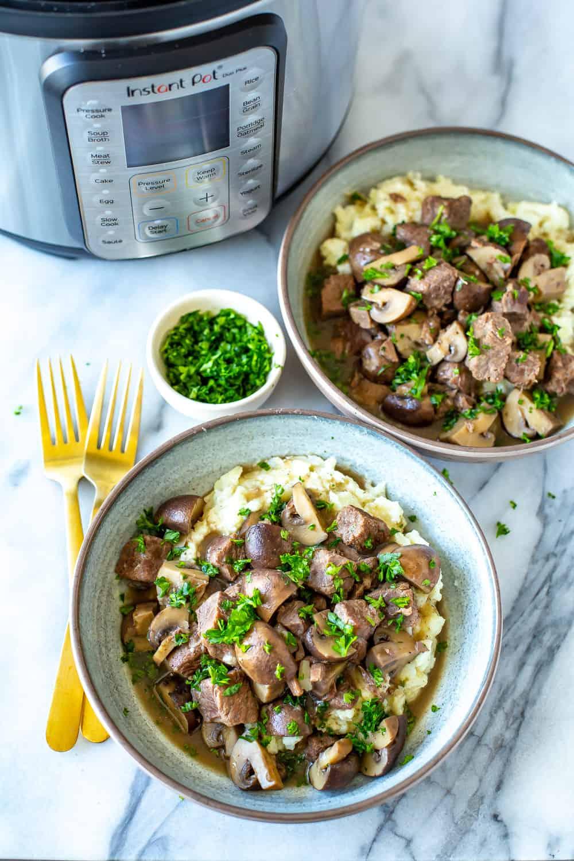 Instant Pot Beef Tips