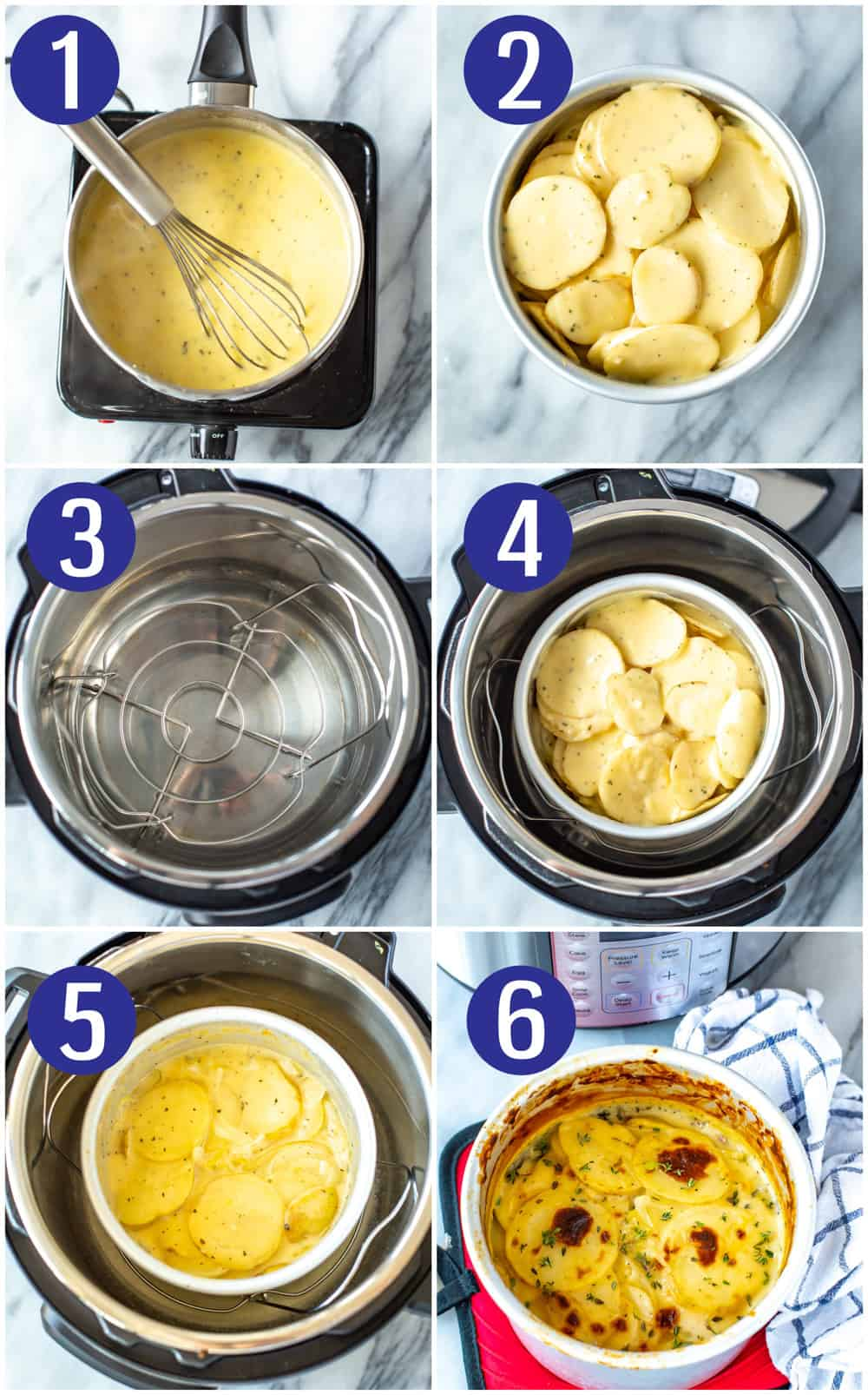 Instant Pot Scalloped Potatoes