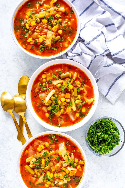 Instant Pot Cabbage Soup