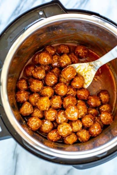 Instant Pot Frozen Meatballs
