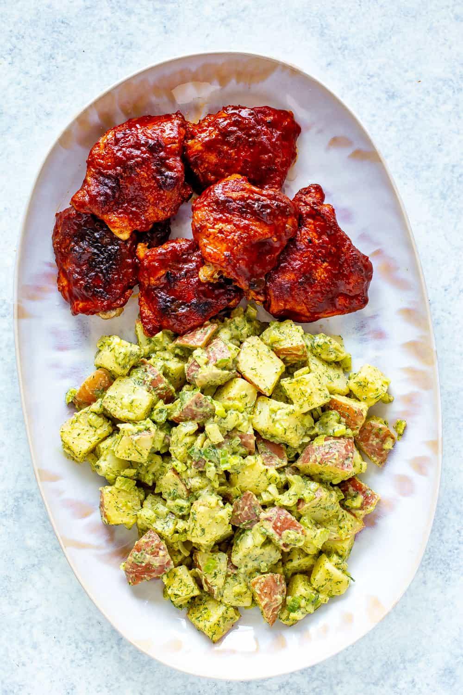 Instant Pot BBQ Chicken Thighs