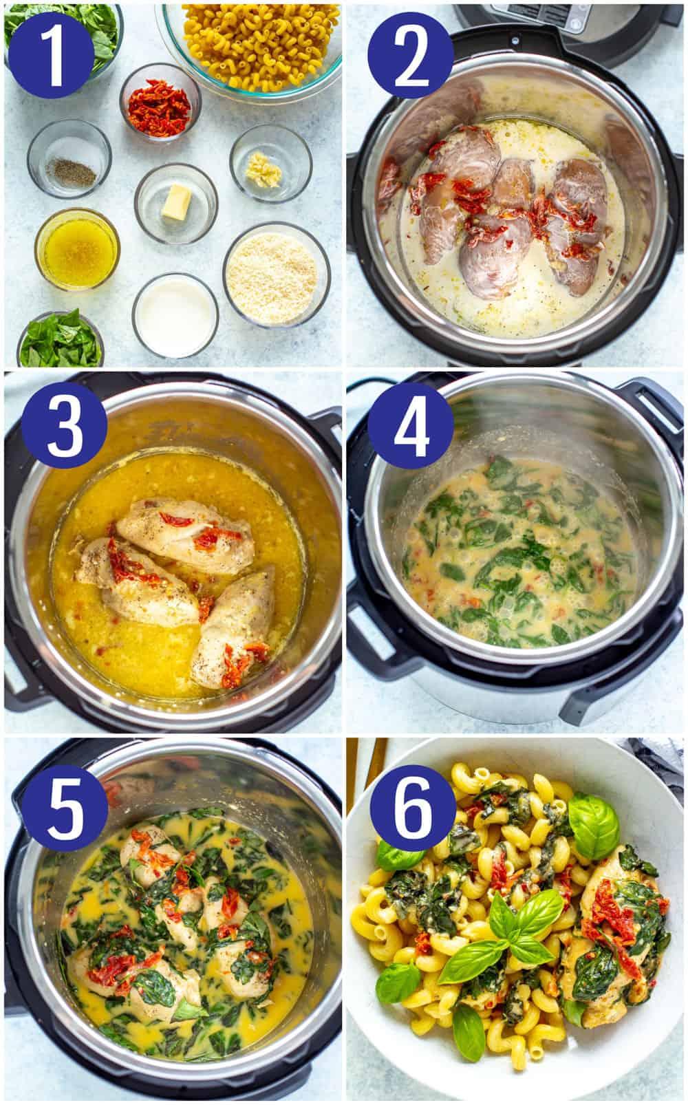Instant Pot Tuscan Chicken
