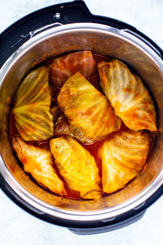 Instant Pot Cabbage Rolls